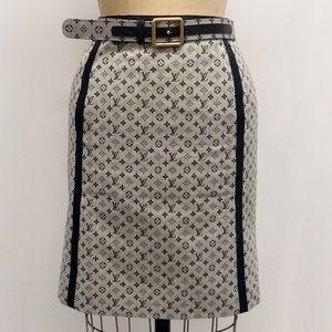 9eab04abd2 Louis Vuitton Skirts   Lv Print Skirt Set   Poshmark